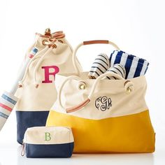 Dipped Canvas Bucket Bag http://shopstyle.it/l/njPz