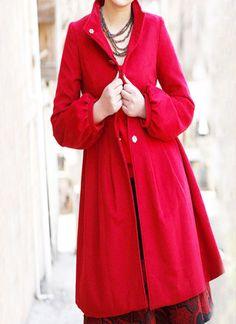 Red coat;)