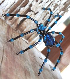 Halloween craft ideas: beaded spiders | make handmade, crochet, craft