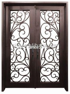 Wrought Iron Front Door