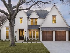 Property Page | Jonathan G. Rosen | , , Love the little awning style roof over the garage doors.