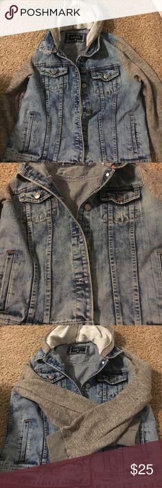 Denim jacket Worn once! Not my style.. from Rue 21 Jackets & Coats Jean Jackets
