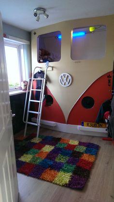VW Campervan handmade bunkbeds