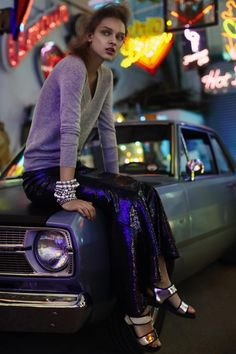 Miss Vogue #14: Night moves
