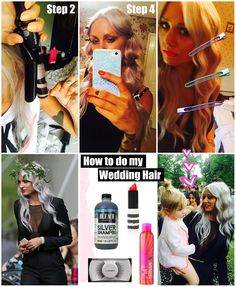 Lou Teasdale wedding hair