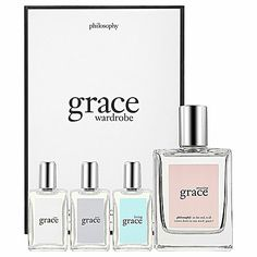 SALE! Take an extra 20% off this sale item. Use code EXTRA20 at checkout through 1/2/13. Philosophy Grace Wardrobe Gift Set - #34 #Sephora #Sale