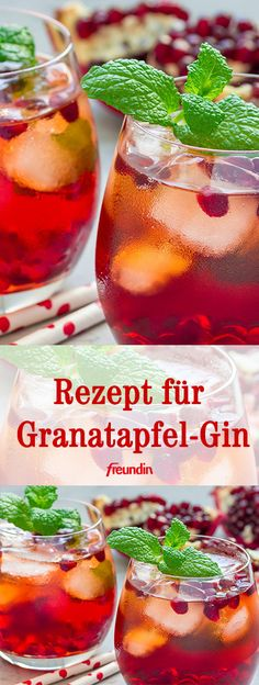 Perfect for the start of the weekend: gin with pomegranate and lemon! Perfect for the start of the weekend: gin with pomegranate and lemon! Good Whiskey, Whiskey Drinks, Ginger Ale, Easter Recipes, Summer Recipes, Granada, Pomegranate Gin, Pink Velvet Cakes, Le Gin