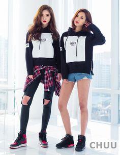 Korean Fashion on We Heart It Korean Street Fashion, Asian Fashion, Love Fashion, Girl Fashion, Dance Outfits, Girl Outfits, Fashion Outfits, Ulzzang Fashion, Ulzzang Girl