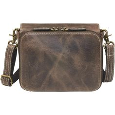 46c0b7bb0f0 GTM CZY-15 Distressed Buffalo Leather Cross Body Organizer - Concealed  Carry Handbags -