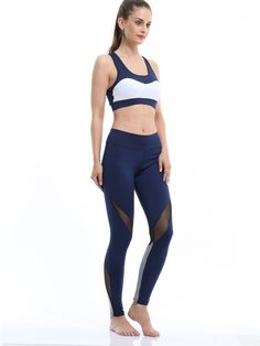 3b06e354bb6 OneBling Women s Tracksuit Suit Yoga Bra Tops Pants Fitness Running Set