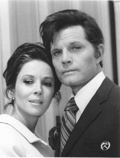 Dana Wynter and Jack Lord