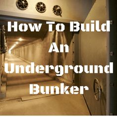 Build A Bunker 775393260824187359 - Underground bunkers can very much save your life in case of an adversity. People who have tried or built bunkers know that it is not as easy as it sounds. Building a secret structure below your hom… Source by Underground Bunker Plans, Underground Living, Underground Shelter, Underground Homes, Underground Cellar, Survival Shelter, Survival Life, Homestead Survival, Survival Prepping