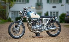 Elegant #Yamaha XS650 #BratStyle CUB 002 by Lions Den Customs #motorcycles | caferacerpasion.com