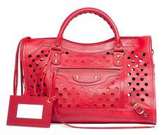 Balenciaga Polka Dot Bag