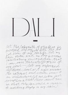 Rika Magazine | Dali