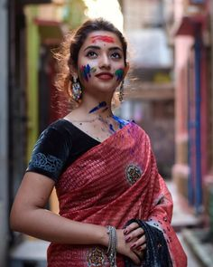 Photo by Shout out page🌼 in Gauhati with and Image may contain: 1 person, standing Beautiful Girl Indian, Most Beautiful Indian Actress, Beautiful Girl Image, Beautiful Saree, Beautiful Actresses, Cute Girl Photo, Girl Photo Poses, Girl Photography Poses, Holi Pictures