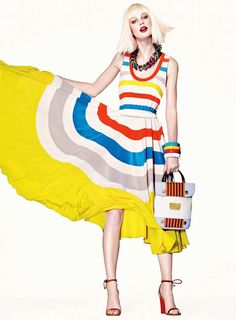 MARC By Marc Jacobs Simone Stripe Dress $628