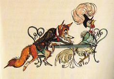 Chanticleer and the Fox - Marc Davis