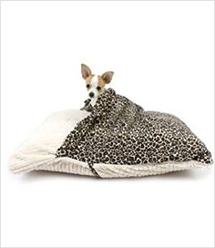 Amazon.com : Pet Pocket Pillow Bed for Dogs : Burrow Dog Bed : Pet Supplies