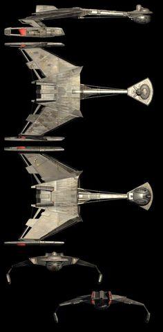 Klingon D4 Battlecruiser #klingon #johneaves #startrek