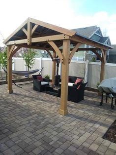 Backyard Discovery 14' x 10' Somerville Pergola With ... on Backyard Discovery Pavilion id=66486