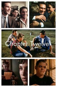 The last chapter of the outsiders