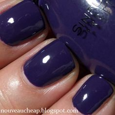 Purchased by Me Before I get into my little swatch-fest, a few Sinful Colors tidbits for you: