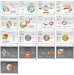 Smartart cluster diagram variations from powerpoint charts ceo pack process shapes for powerpoint ccuart Images