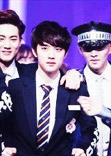 EXO D.O. and his dance xD #kyungsoo