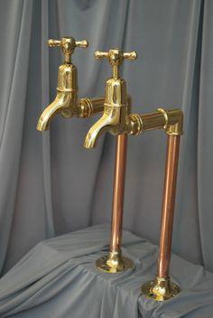 Ideas kitchen sink taps bathroom faucets for 2019 Butler Sink Kitchen, Best Kitchen Sinks, Kitchen Sink Taps, Sink Faucets, Kitchen And Bath, Cool Kitchens, Belfast Sink, Bath Taps, Bathroom Taps