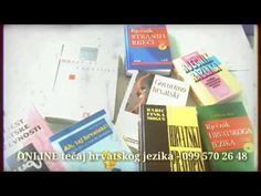 Courses for Croatian as a foreign language – classes in groups, individual classes, online courses. Regular courses for groups start on 24th February 2014, Radnička cesta 27, Zagreb. Information and registration: 099 570 26 48, info@pavuna.hr