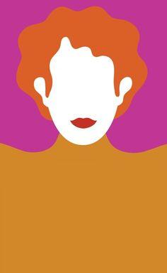 Olimpia Zagnoli. Pop Art People Illustration, Illustration Art, Attention Grabbers, Colour Pop, Art Installation, Matisse, Line Drawing, Art Inspo, Redheads