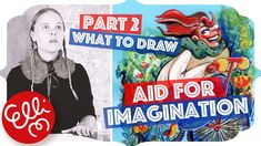 What To Draw Ideas: Aid For Imagination - YouTube What To Draw, Imagination, Animation, Fantasy, Make It Yourself, Videos, Drawings, Illustration, Creative