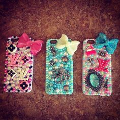 Bedazzled iPhone 6 Case by BedazzledBliss33 on Etsy