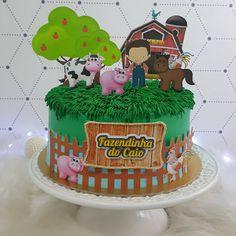 Bolo Fazendinha De Glacê Ideas Para Cumpleaños Farm Cake Cake E