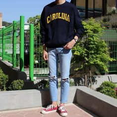 bowling outfit date Korean Fashion Men, Urban Fashion, Mens Fashion, Fashion Outfits, Fashion Trends, Estilo Tomboy, Looks Style, My Style, Tumblr Outfits