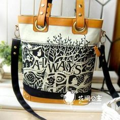 Buy 'Flower Princess – Printed Shoulder Bag' with Free International Shipping at YesStyle.com. Browse and shop for thousands of Asian fashion items from China and more!