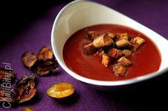ChilliBite: Jesienna zupa ze śliwek, z piernikiem
