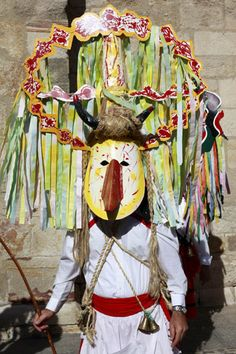 Careto de Lagoa (Portugal)  Portuguese Traditional Carnival Costumes