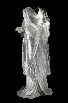 a clear difference | Glass Kimono by: Karen LaMonte