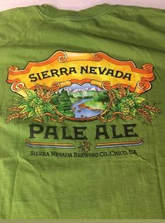 2a9e55690556a Sierra Nevada Tropical torpedo T-Shirt Size XL Extra IPA Beer California  NWT New