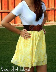 DIY skirts!