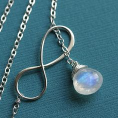 Moonstone necklace!
