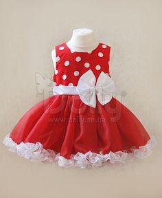 Платье Лори красное
