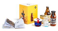 Die TRY Berlin Box mit den fünf Produkten und dem 112-seitigen Booklet. (Foto Ole Schwarz)