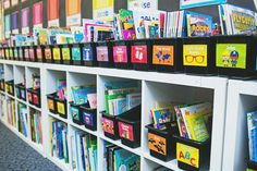 Schoolgirl Style - Just Teach Classroom Library Labels {U PRINT}