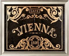 Art Print: Vienna by Madison Michaels : Vienna Waits For You, Café Chocolate, Coffee Poster, Mouth Watering Food, Sale Poster, Color Themes, Food Art, All You Need Is, Framed Artwork