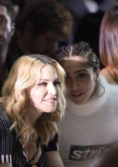 Madonna's daughter, Lourdes Leon, makes her mark at Alexander Wang.