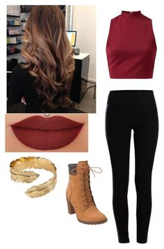 """Untitled #2"" by shiyann ❤ liked on Polyvore featuring moda, Pieces, Anastasia Beverly Hills, Timberland, Melinda Maria, women's clothing, women, female, woman y misses"