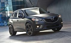 Modified Mazda CX-9. We both like these but have to research more.